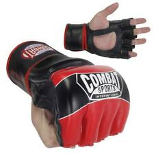 NEW COMBAT SPORTS MMA TRAINING FIGHT GLOVES FG3S RED/BLACK