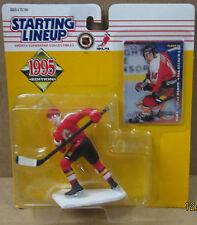 Starting Lineup 1995 Collectible Hockey Theoren Fleury Sports Figurine & Card