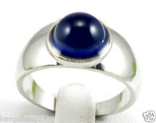 10pcs SUPERNATURAL Color Changing Mood Round Bead Silver Rings Cool