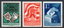Austria - 1950 30 years Kärnten plebiscite Mi. 952-54 MNH
