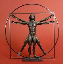 "LEONARDO DA VINCI - Skulptur - ""Der vitruvianische Mensch"" - Museums Edition ""L"""