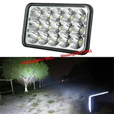 "4""x6"" LED CREE LIGHT BULB CRYSTAL CLEAR SEALED BEAM HEADLAMP HEADLIGHT NEW"