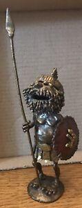 "Charles ""Charley"" Gohn Brutalist Bronze Sculpture Viking ""Hagar The Horrible"""