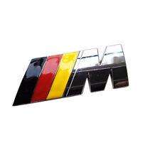 Emblem for BMW M badge sticker car rear truck metal decal M-Series M3 M4 M5 M6