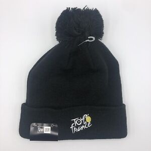 Tour de France New Era World Cycling Knit Pom Pom Cuffed Beanie Winter Hat