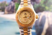 Beautiful Classic Ladies Tag Heuer Professional 3000 SS Quartz Watch 31mm