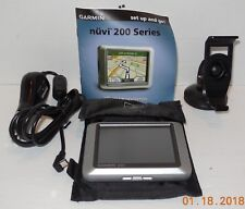 Garmin nuvi 200 Automotive Mountable Gps Device Touchscreen with Accessories