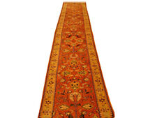 EXTRA XL 40 ft Thick Soft Traditional Runner Red Handmade Long Carpet Runners