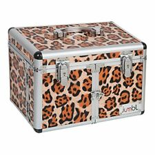 Cosmetic/Jewelry Train Case Leopard Print