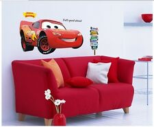 Cars Lightning McQueen Wall Sticker Decal Mural PVC Removeable Nursery  Decor ch