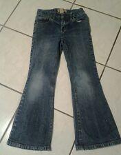 Girls Children's Place flare stretch jeans pants size 6 X 7 adjustable waist EUC