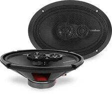 "ROCKFORD FOSGATE 260 Watt 6"" x 9"" 3-Way Coaxial Car Stereo Speakers   R169X3"