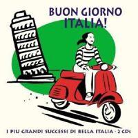 BUON GIORNO ITALIA SAMPLER 2 CD MIT LUCIO DALLA UVM NEU