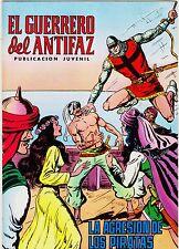 EL GUERRERO DEL ANTIFAZ (Reedición color) nº:  50.  Valenciana, 1972-1978.