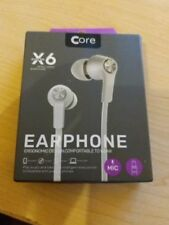 X6 Intelligent Earphones Comfortable to Wear Mic Included