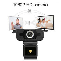 HD 1080P Camera Webcam PC USB Web Cam w/ Microphone For Desktop Laptop Computer