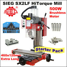 SIEG SX2LF HiTorque Mill 500W Brushless Motor  Starter Pack