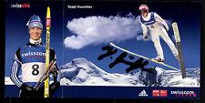 Seppi Hurschler Autogrammkarte Original Signiert Skispringen + G 11399