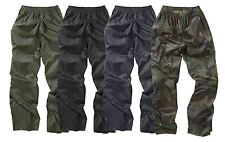 Waterproof Trouser Hiking Outdoor Work Camping Fishing Pants Camo Black Navy New
