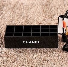 Brand New CHANEL MakeUp Cosmetic Lipstick/Nail polish Organiser Storage Gift Box