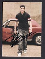 BEN    ....  Signierte  Autogrammkarte