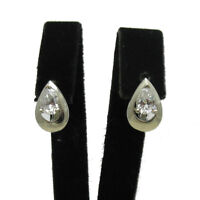 Labradorite /& Cubic Zirconia 925 Sterling Silver Halo Cluster Earring SHER0807