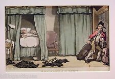 ENGRAVING DR.SYNTAX  ROWLANDSON DR.SYNTAX ROBBED OF HIS PROPERTY ACKERMANS 1813