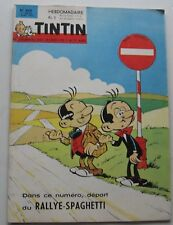 JOURNAL TINTIN N°858 RALLYE SPAGHETTI/VAILLANT/L'AVION CISEAUX 1965 BON ETAT