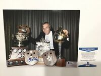 Guy Lafleur Signed Autographed 8x10 Photo Montreal Canadiens Beckett BAS COA a