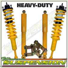 "Nissan Navara D40 Front & Rear Shocks + Coil Springs + Shackles 2"" Lift Kit"
