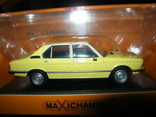 1:43 maxichamps bmw 520 1974 Yellow/Amarillo nº 940023001 OVP