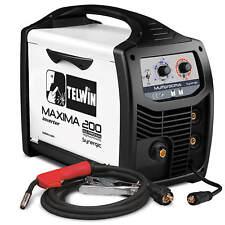 Telwin Elements MAXIMA 200 Multiprozess Schweißgerät 170A MIGMAG WIG MMA FLUX