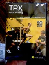 TRX Basic Training Intro to Suspension Training Fitness DVD & Workout Guide Book
