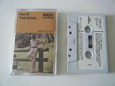TONY CHRISTIE THE BEST OF CASSETTE TAPE ALBUM 1976 PAPER LABEL MCA UK