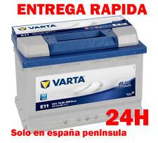 Batería para coche VARTA E11 (74Ah) 680A(EN) Blue Dynamic nueva