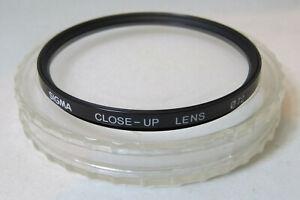 72mm Sigma Close-Up Lens Filter