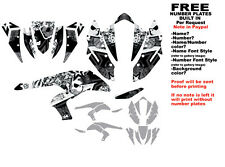 DFR SUBCULTURE GRAPHIC KIT BLACK SIDES/FENDERS KAWASAKI KFX450R KFX450