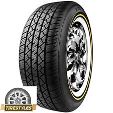 (2) 215/65R15 VOGUE TYRE WHITE W/GOLD 215 65 15 TIRE
