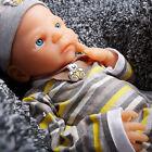 IVITA 22'' Full Body Platinum Silicone Reborn Baby BOY 5KG Lifelike Silicon Doll