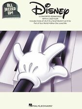 All Jazzed Up - Disney Piano Solo Book *NEW* Sheet Music