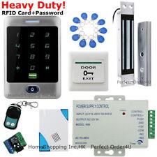 Waterproof 125KHz RFID Card + Password Door Access Control System+Magnetic Lock