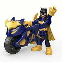 Fisher-Price DHT69 Imaginext DC Super Friends, Batgirl  Batcycle