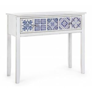 Console Table 1 Drawer, Demetre Chiparus Elegant