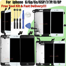 For iPhone 6 6S 7 8 Plus LCD Screen Touch Digitizer Assembly Replacement Camera