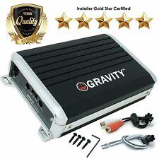 Gravity GBR600.2D True 300W RMS Micro Ultra Compact Digital 2-Channel Amplifier