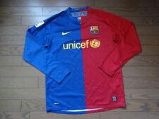 FC Barcelona Jersey Shirt 100% Original Men's M 2008/2009 Home Long Sleeves