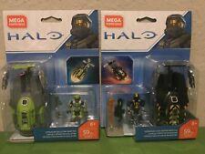 Mega Construx Halo Lot Operation Flood Hunters /Operation Guillotine Drop Pods