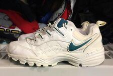 Nike Air Aegis Leather White Slate Women's Ds 1997 Vintage 7