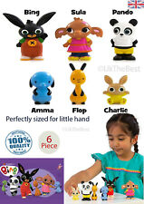 New Bing Bunny and Friends 6 Action Figure Set for kid Toys Gift Super Cute Fun