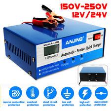 12V/24V 200AH Car Battery Charger Intelligent Automatic Pulse Repair lead acid